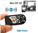 new P2P IP IR night version wireless mini DVR spy mini Q7 wifi hidden camer