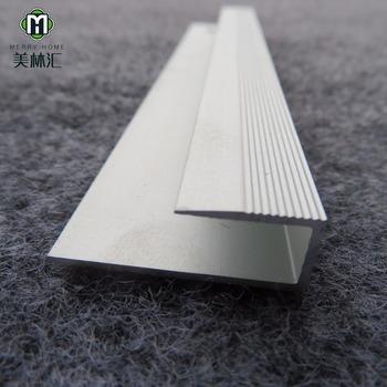Floor Tile To Carpet Trim Aluminum Profile - Buy Floor Tile To ...