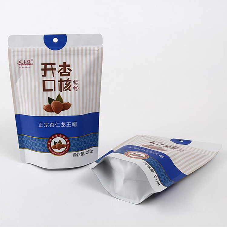 Food Cloth Packing Laminated Mylar Stand Up Aluminum Foil Bag