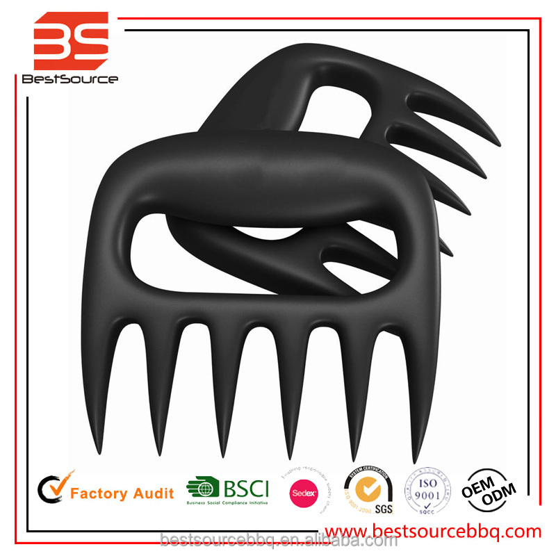 BBQ Meat Handler Forks BEAR PAWS Pulled Pork Shredder Claws