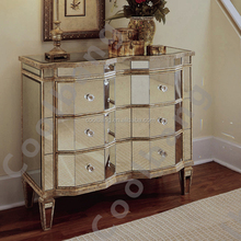 Oringin professional produce antique mirrored furniture bedroom wholesale