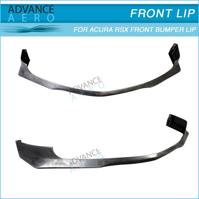 For 02-04 Acura Rsx Evo Style Pu Front Bumper Lip Spoiler Body ...