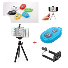 Photo Shooting Kit remote ,mini tripod for iPhone 5 5C 5S 4S Samsung Galaxy S5 S4 S3 Note 3 2 HTC One LG Sony Android Cell Phone