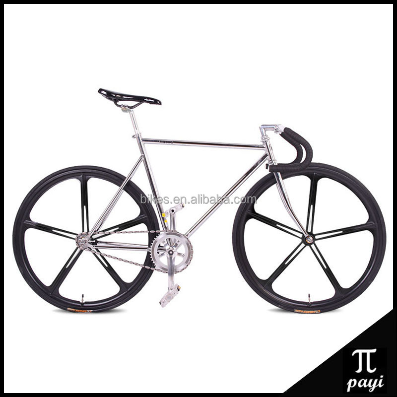 Tianjin fixie Bicycle 50cm 54cm 56cm DIY frame Complete Road Bike 700C Fixed gear bike