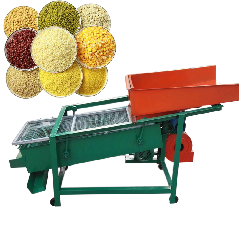Grain Corn Bean Seed Rice Processing Grader Screening Cleaning Sorting Machine