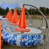 Leisure electric BBQ donut boat for park