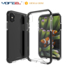 Hybrid Trasparent acrylic + TPU edge Back Phone Case for iPhone X