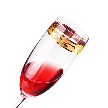 W493 Wholesale Price Customized Available Aluminum Wine Glasses