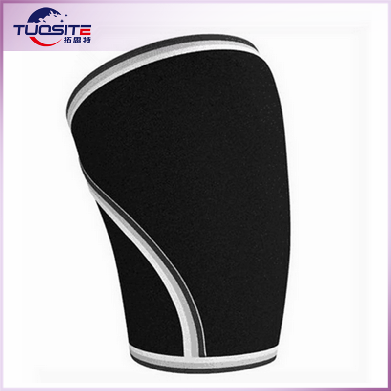 Crossfit Weightlifting knee support knee sleeve, 7mm neoprene knee support sleeve