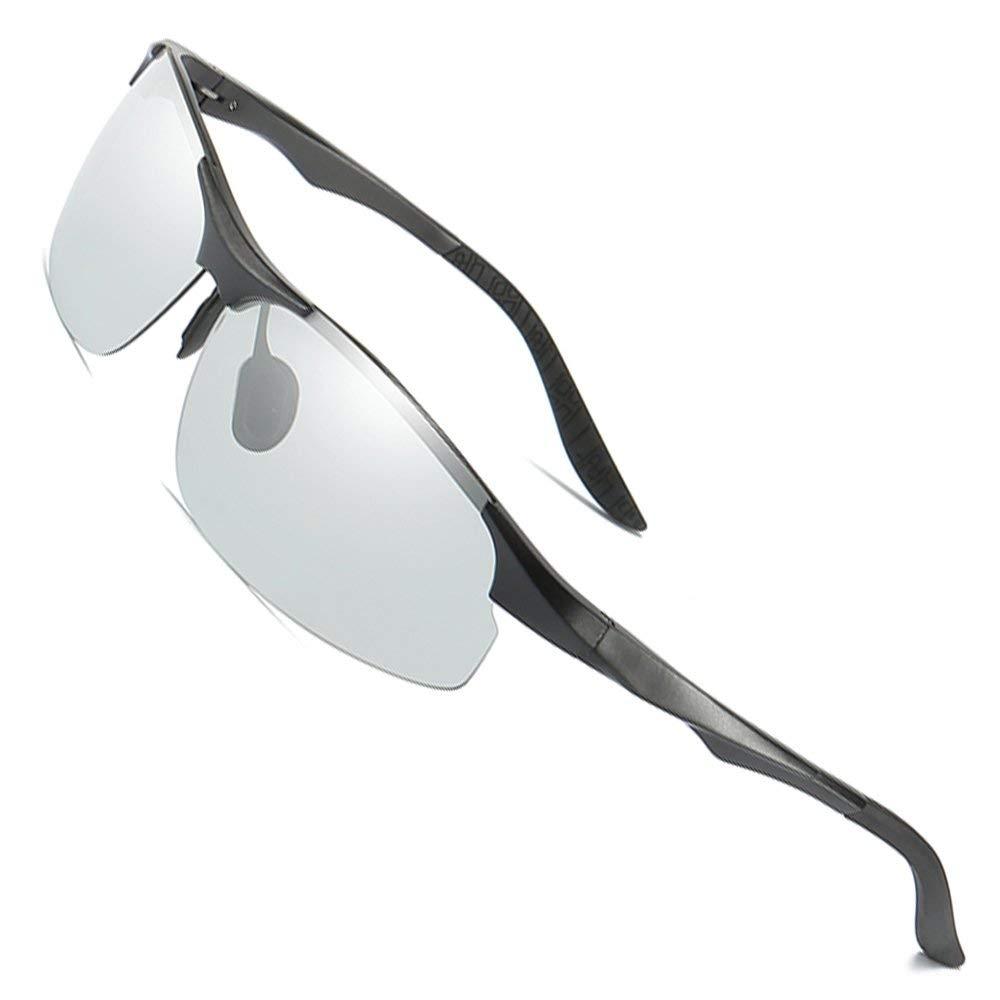 MOTELAN Day Night Photochromic Polarized Sunglasses Men's Sunglasses for Drivers Male Safety Driving Fishing UV400 Glasses