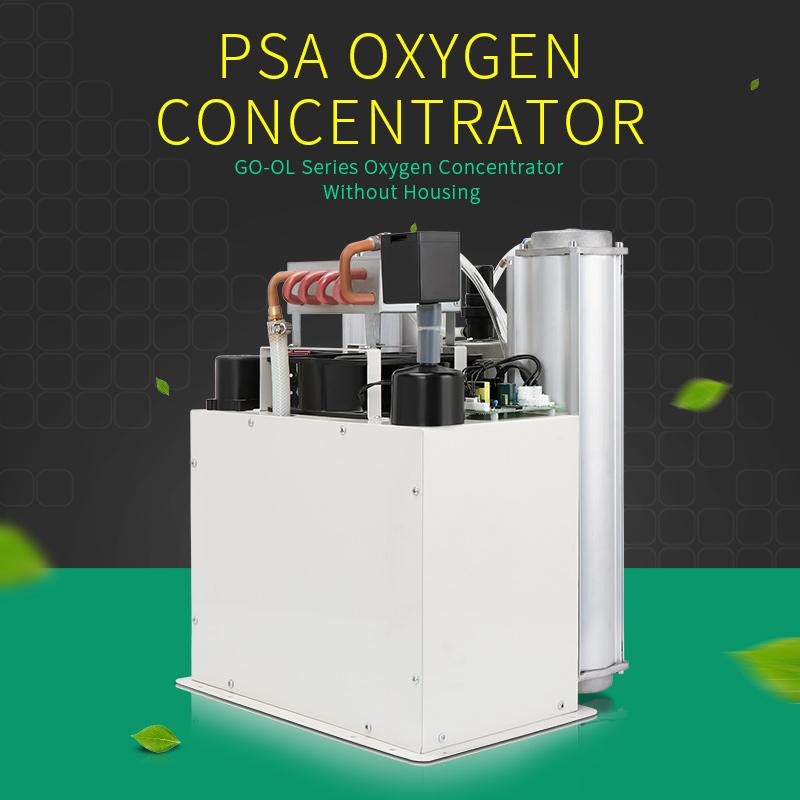 Impianto di produzione di ossigeno/generatore di ossigeno industriale parti 5L e 10L