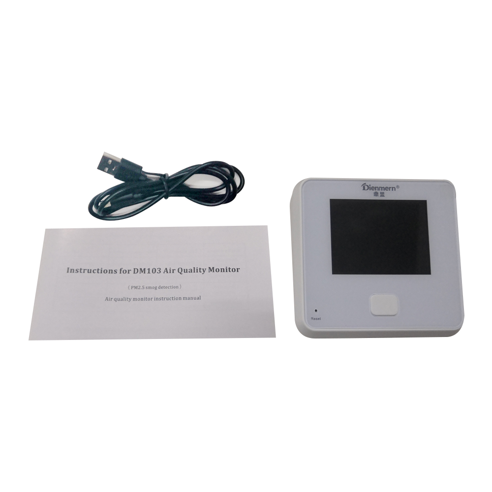 Particle Counter handheld detector Professional PM2.5 Dust Air Quality Monitoring