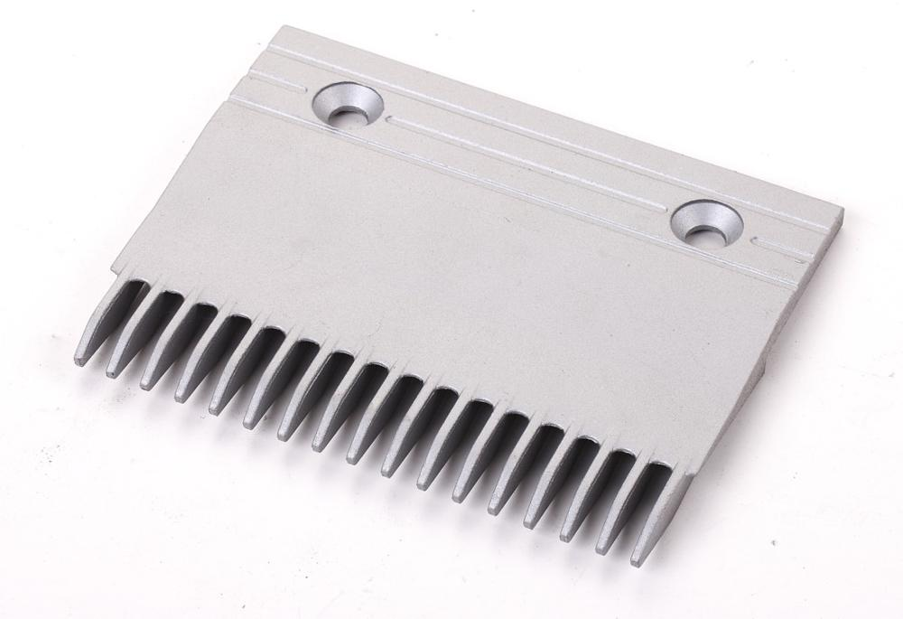 CNACP-500 Length 143mm 17T Escalator Aluminum Comb