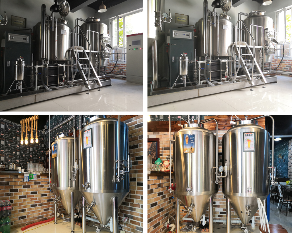 Brewery equipment stainless steel 304 316 wine / beer conical fermenter / micro beer brew equipment for plant factory
