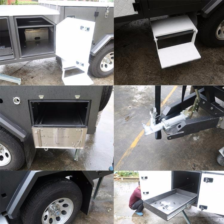 Hard Floor 4x4 Off Road Anhänger Für Verkauf Mit Seitlicher Öffnung ...