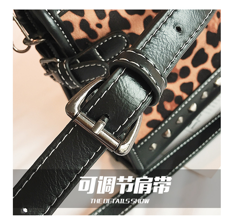 Wholesale 2018 New SAC A Main 100% Genuine Leather Leopard Brand Clutch Handbags