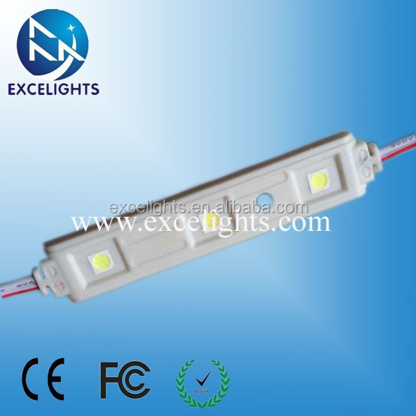 3PCS 0.72w High Power Injection Molding 5050 SMD led light bar module