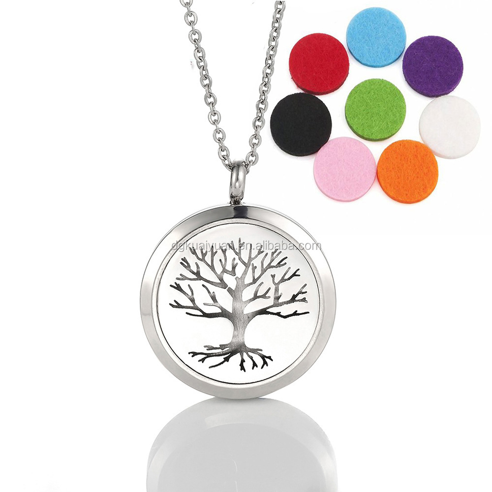 2016 stainless steel aromatherapys essential oil diffuser <strong>charms</strong> and pendants