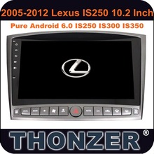 Android 6.0 10.2 inch <span class=keywords><strong>LEXUS</strong></span> <span class=keywords><strong>IS250</strong></span> IS300 IS350 Mobil <span class=keywords><strong>Radio</strong></span> (2005-2011)