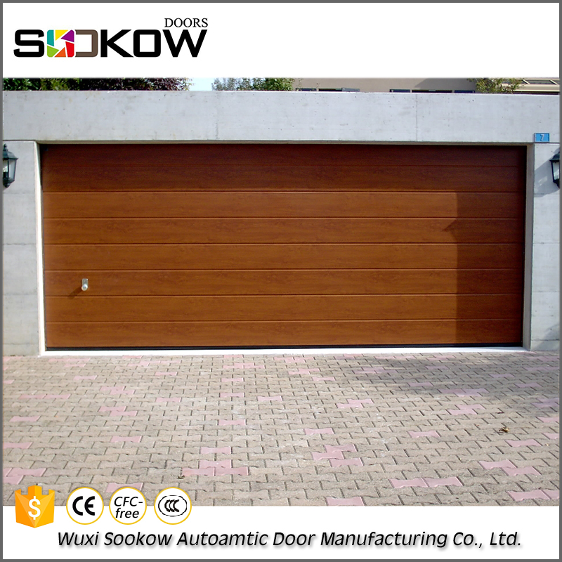 Excellent quality automatic steel garage door specials