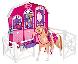 Barbie and Her Sisters in a Pony Tale Stable Playset