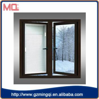 Guangzhou aluminum jalousie window manufacturer custom apartment window with blinds & Guangzhou aluminum jalousie window manufacturer custom apartment ...