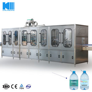 Chinese factory supply automatic 3in1 monoblock 5L drinking water filling equipment
