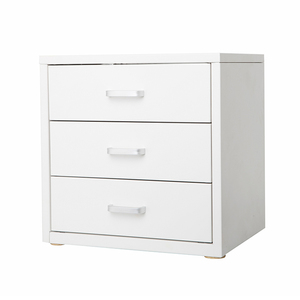 Home Office Filing Cabinets Desk Top 3 Drawer Metal Storage Cabinet