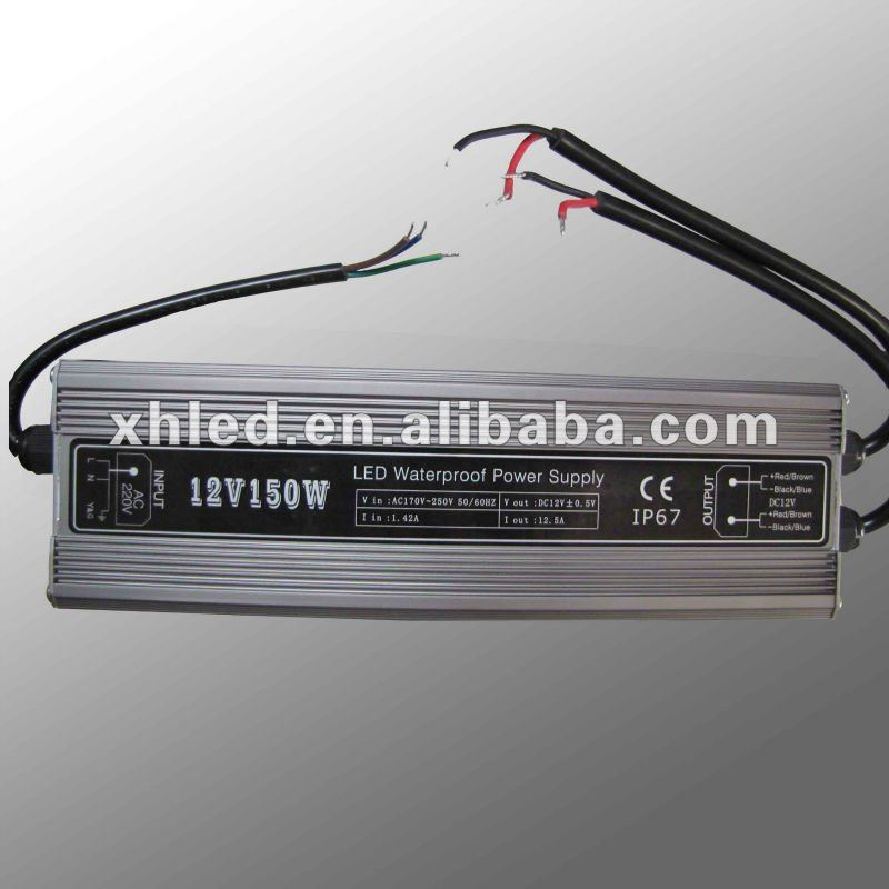 150W constant voltage 12v 24V dc switching power supplies