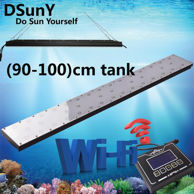Dsuny Wifi 36inch Aquarium Fish Tank Led Lamp With 4 Modes,Marine ...