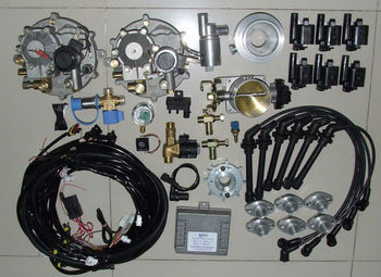 Dedicated Lpg Biogas Cng Conversion Kit Forsel 6 12 Cylinder Generator Engine