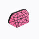 high quality women makeup geometric small pouch cosmetic bag pvc