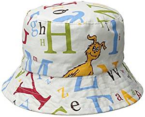 Trend Lab Dr. Seuss Bucket Hat, ABC, 6 Months by Trend Lab