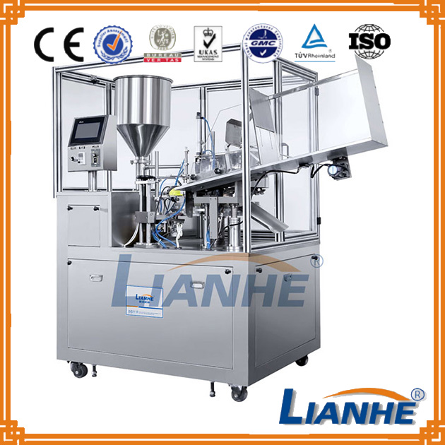 Inner heating soft tube filling sealing machine auto filler&sealer equipment for plastic tube