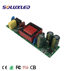 Flicker free AC to DC constant current led driver 30W