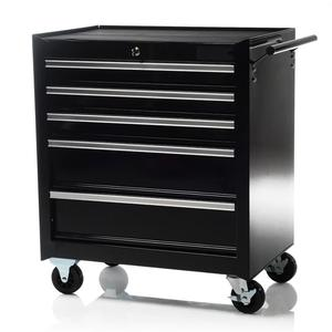 oem custom service steel storage tool cabinet and three drawer tool trolley