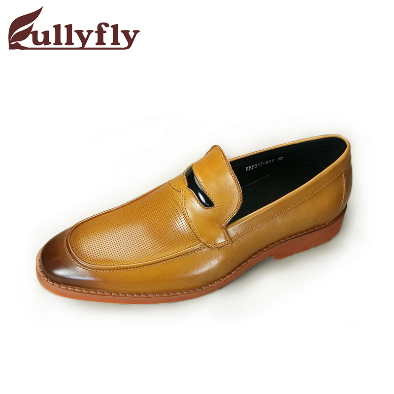 and Spring Autumn in shoes leather Men's YqCwfBC