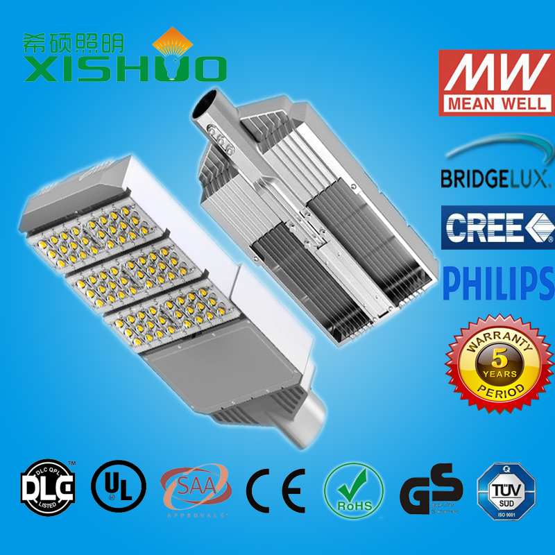 90 watt waterproof outdoor led street light ip65 bridgelux cob led street light 90w with CE RoHS FCC certificate