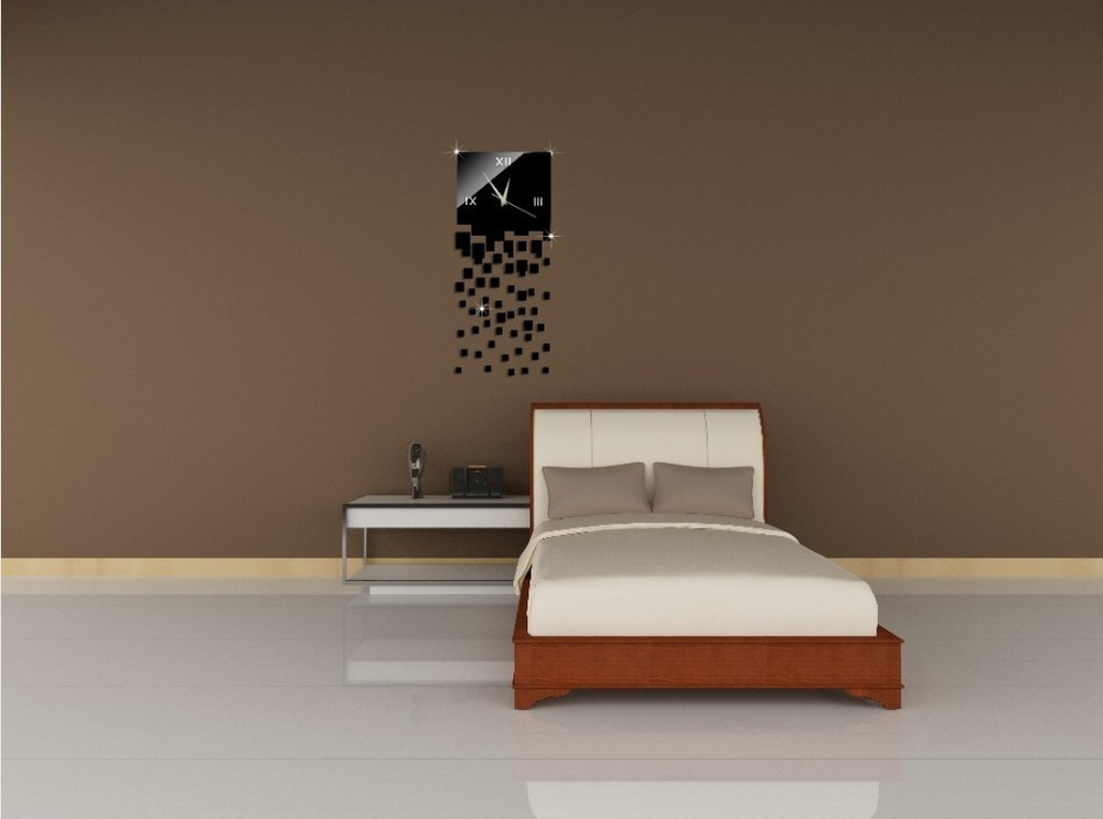 wanduhr modern wanduhren modern design ideen. Black Bedroom Furniture Sets. Home Design Ideas