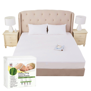 Single Double King Size Plastic Bed Sheet Mattress Cover Protector