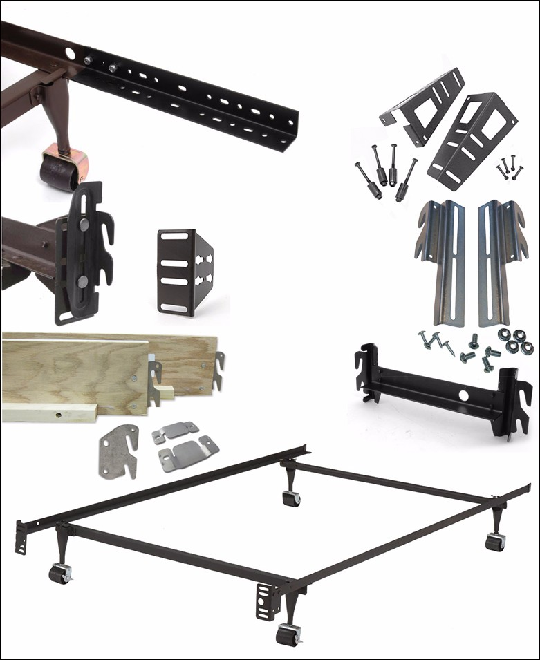 Bed Claw #10 Hook Plates For Wood Bed Frame Conversion Brackets ...
