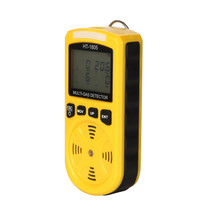 HT-1805 Portable Four in One Combination Gas Detector (O2/CO/H2S/LEL)