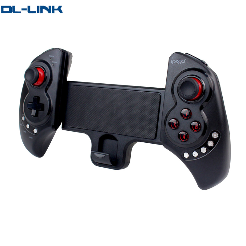 Newest iPega PG-9023 Black Wireless Bluetooth Game Pad Controller for Cellphone Tablet iPod PC
