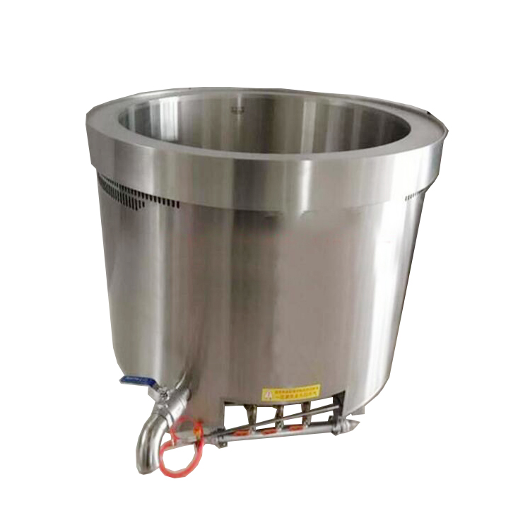 industrial large milk/corn/rice/<strong>chicken</strong> boiling machine/stainless steel cooking equipment