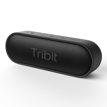 Tribit Xsound Pergi Stereo <span class=keywords><strong>Speaker</strong></span> Tebal Bass 24 Jam Pemutaran Built-In MIC IPX7 <span class=keywords><strong>Speaker</strong></span> <span class=keywords><strong>Bluetooth</strong></span> <span class=keywords><strong>Tahan</strong></span> <span class=keywords><strong>Air</strong></span>