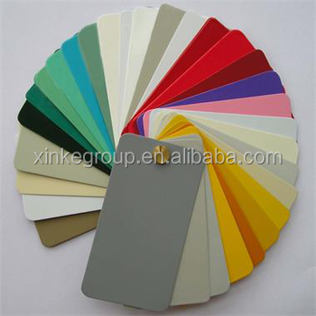 ROHS standard metal powder coating