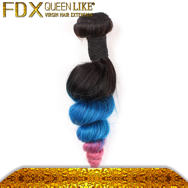 New arrival european product ombre euro hair extension loose wave europian hair