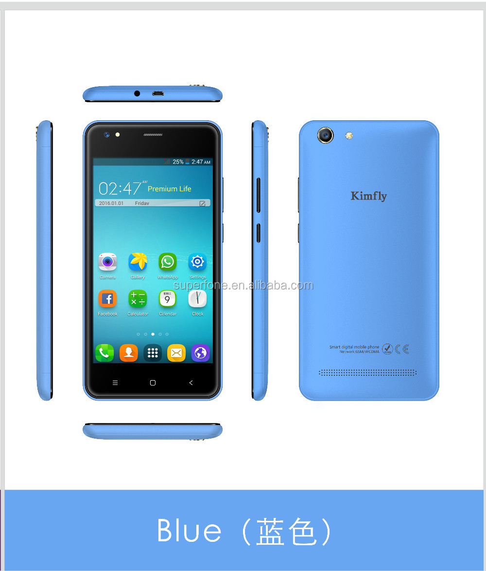Shenzhen OEM Mobile Manufacturers 3G 7731C Quad Core Smart Phone Phone 512+8G