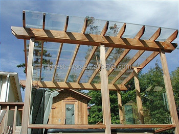 Wooden Pergola Gazebo Outdoor 3x3