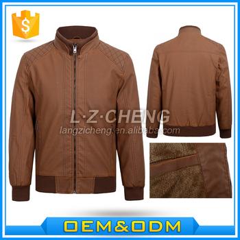 8b6e890fa Pu1-a4 Mens Bomber Leather Jackets Camel Color - Buy Leather Jackets Camel  Color,Men Jackets,Leather Jackets Product on Alibaba.com